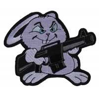 Machine Gun Bunny Rabbit Patch