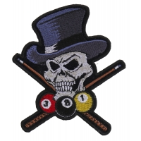 Pool Shark Skull Small Patch