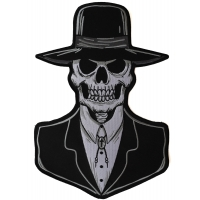 Preacher Skull Large Patch