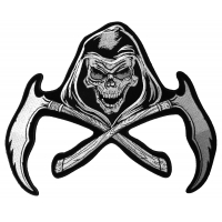 Reaper Scythe Back Patch