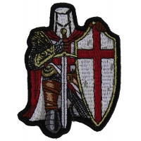 Red Knight Crusader Patch Mini Size