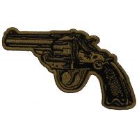 Revolver Hand Gun Patch