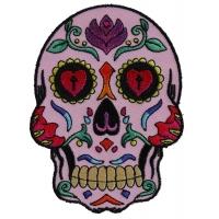 Sugar Skull Pink Patch