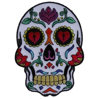 Sugar Skull White Patch