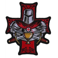 Templar Holy Grail Christian Patch