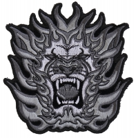 Tribal Lion Small Patch | Embroidered Patches