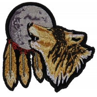 Wolf Moon Small Patch | Embroidered Patches