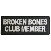 Broken Bones Club Member Patch