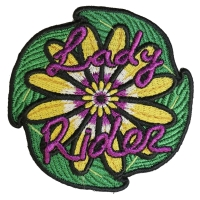 Lady Rider Flowers Patch