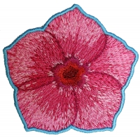 Pink Flower Petal Patch