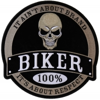 100 Percent Biker Large Back Patch