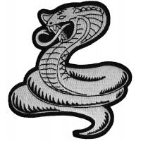 Cobra White Patch
