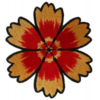 Red Yellow Flower Patch