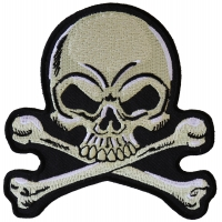 Skull and Crossbones medium Patch