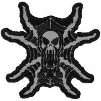 Spider Skull Reflective Patch