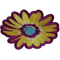 Yellow and Purple Flower Patch
