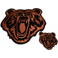 Brown Bear Patch Set Small And Large