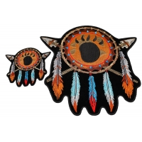 Native American Feathers Arrows 2 Piece Patch Set