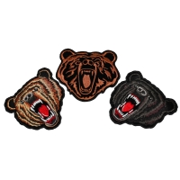Set of 3 Bear Patches