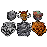 Set of 6 Vicious Animal Patches