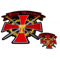 Holly Warrior Small and Large Patch Set