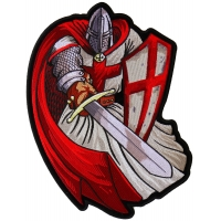 Red Cape Knight Large Back Patch