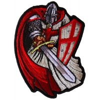 Red Cape Knight Patch