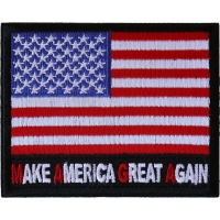 Make America Great Again MAGA US Flag Patch