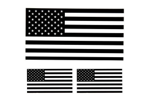 US Flag Stickers