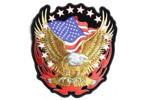 Hot Leathers Patriotic Patches