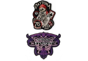 2017 Motorcycle Rally Patches