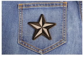 Nautical Star Patches