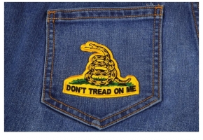 Shop Don't Tread on Me Biker Patches