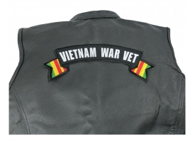 Shop Large Military Veteran Rocker Patches