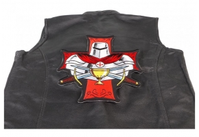 Shop Large Cross Patches for Christian Bikers