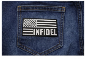 Infidel Patches in Arabic | Embroidered