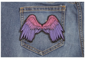 Shop Embroidered Angel Wing Patches