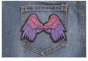 Shop Embroidered Angel WingPatches
