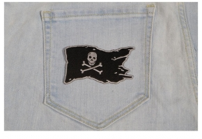 Iron on Patches for Pirate Fans
