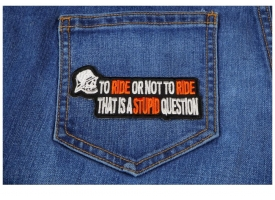 Funniest Biker Patches for your Riding Jacket