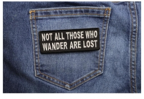 Motivational Wise Inspiring Saying Patches