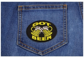 Shop Funny Beer Patches | Embroidered Patches