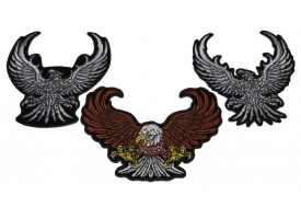 Shop Eagle Biker Patches Embroidered Patches Vests, Jackets, Motorcycle