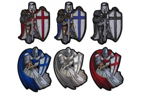 Crusader Knight Patches for Christian Missionaries