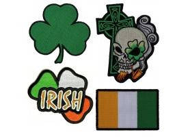 Shop Irish Pride Patches | Embroidered Irish Patches