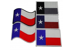 Shop Texas State Heritage Pride Patches for Texans