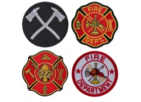Shop Embroidered Fire Fighters Patches and Fire Department