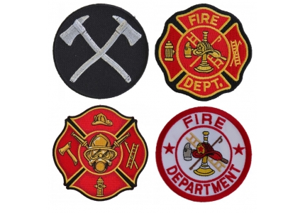 Firefighter Patches | Embroidered Fire Fighters & Fire Department