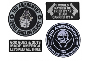 2nd Amendment Patches