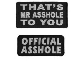 Patches for assholes